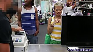 Mormor Tjej och Hot Big Boobs Fucking Your Tjej In Min Pawnshop