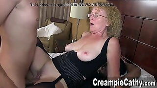 immense creampie From 2 Young Guys