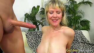 British Granny Jamie Foster Gets Plowed