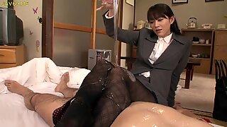 Shou Nishino tvål Superb Woman Stumpbyxor Röv Piska Ru Numum