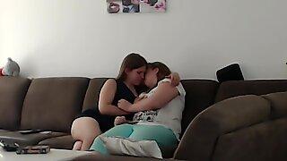 Min första gången kysser a tjej