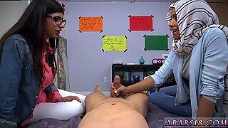 Arabisk Mamma och Ally s Pal BJ Lescomrade S söner med Mia Khalifa - Mia White