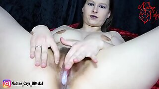 Let the Fat Porno Tuck fill !!! Fat Man Creampie in Hairy Teen Pussy