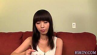 Japanese pornstar cummed