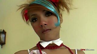 Tailandesas novinhas princesa leva caralhos
