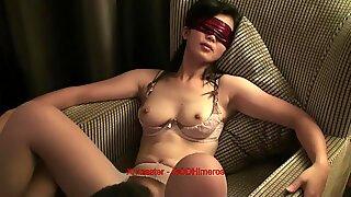 Uber-Sexy Kinesisk Fru i 3p del 3. Timika från date25.com