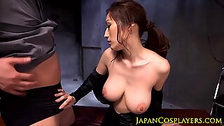Bigted Japansk Milf Pussyfucked