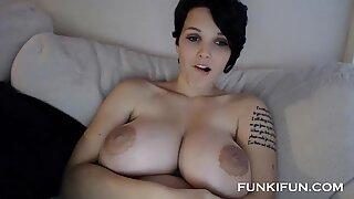 Sexiga Tonåringar Stor Sexig Boobs på webbkamera