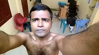Mayanmandev - desi indisk manlig selfie video 100