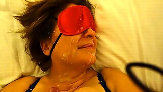 My big cum facial over wife-FULL VIDEO