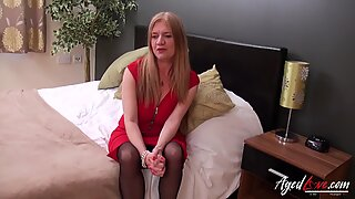 Agedlove Brittisk Mogen Hårdporr Fucking Video