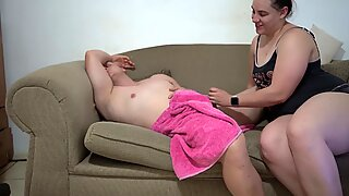 Big Booty Pawg Step Sister Seduces her Brother After Shower!