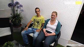 Amateureuro - sexig deutsche bbw tonåring anna k.hard sex utomhus